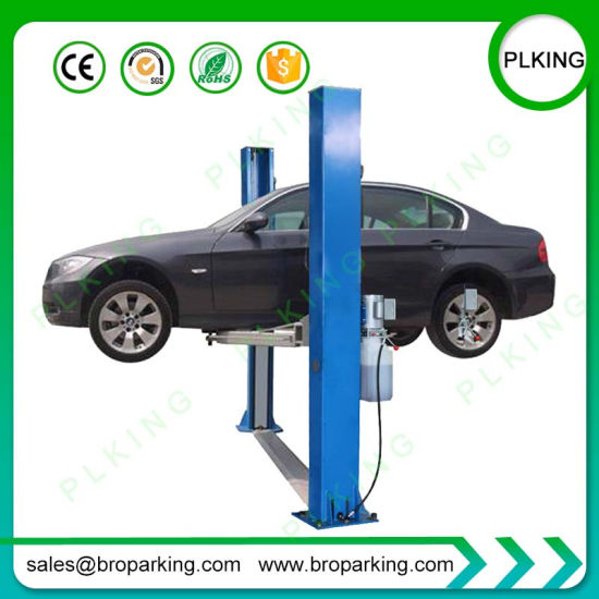 China 3 5t 4t Manual Electric Two Post Hydraulic Auto Car Lift For