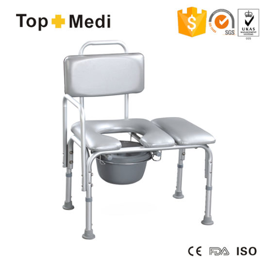 China Topmedi Bathroom Accessories Bath Bench Commode Chair with ...