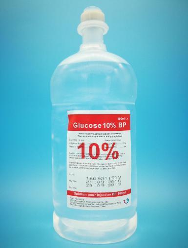 China Dextrose/ Glucose 10% Injection/Infusion Medicine
