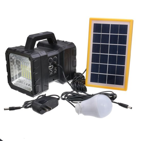 Solar Camping Lantern Lamp Portable Outdoor Rechargeable 3w Light