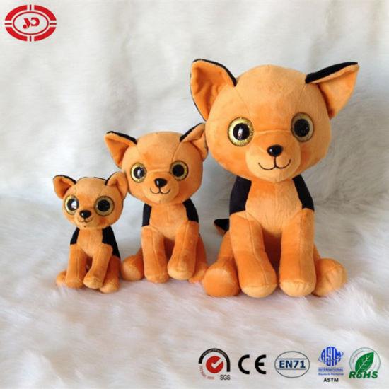 Dog Big Eyes Family Cute Plush Stuffed Soft Toy