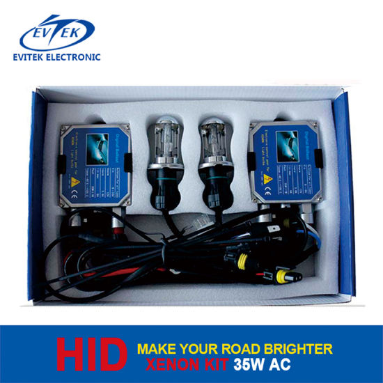 Evitek Best Selling 35W AC HID Conversion Kit with Thick Ballast Tn-3001 Stable Kit pictures & photos
