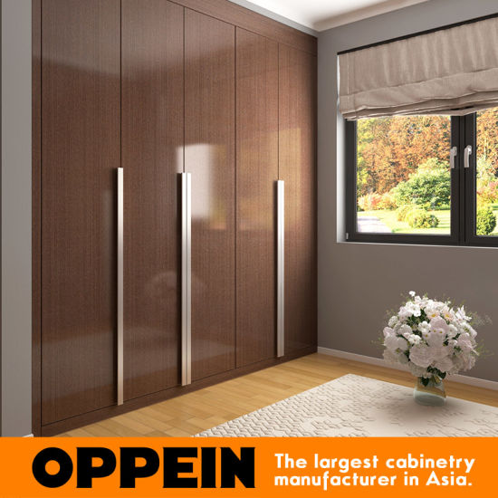 Bedroom Cupboards Inside Designs Brown Leather Bed Bedroom Ideas Bedroom Sets Canada Light Blue Bedroom Colours: China Oppein High Gloss Built In Long Handles Wooden