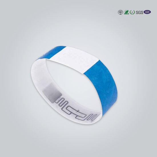 Custom Removable Tabs Patient Wristbands for Hospital pictures & photos