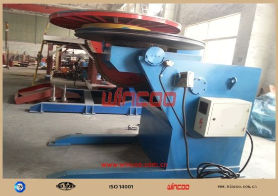 Conventional Welding Positioner (100KG— 2, 000KG) / Automatic Positoner/ Automatic Rotator/ Rotating Table/ Rotating Machine pictures & photos