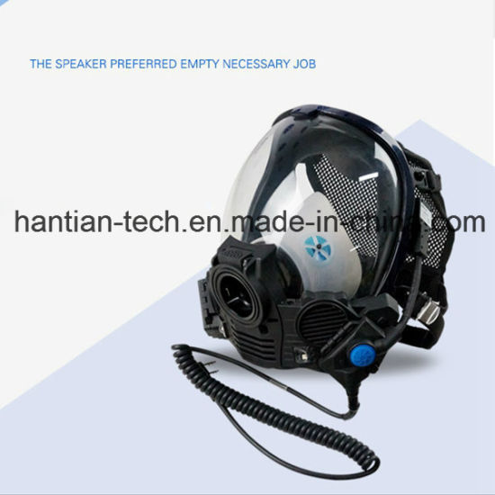 Fire Fightig, Chemical, Gas Communication Face Mask for Personal
