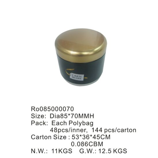 Round Tea Tin Boxes with Competitive Price