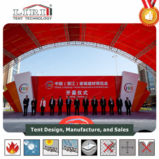 Liri Tent Exhibition Tents in Canton Fair, Canton Fair Tent for Exhibition Events pictures & photos