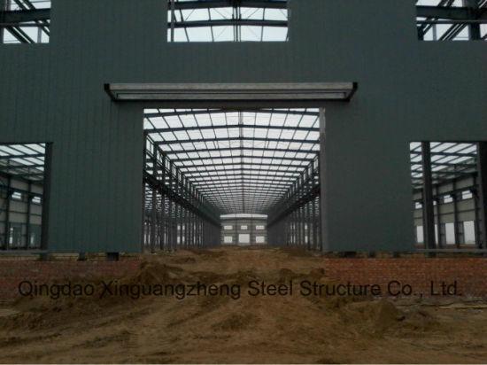 Prefabricated Workshop with Overhead Crane