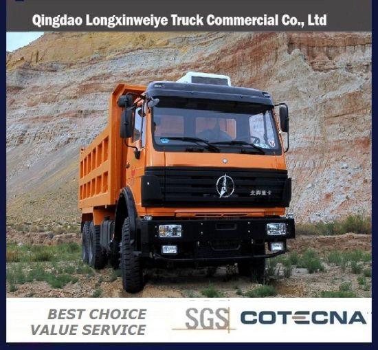 China North Benz 6X4 Mining Dumper Truck