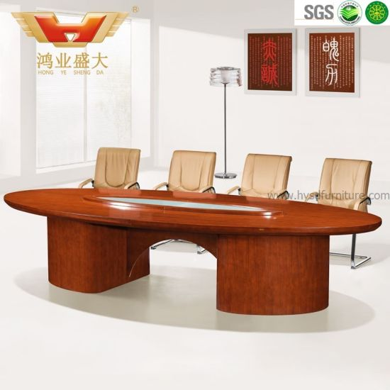 China Oval Shape Contract Conference Table Person Meeting Table - Oval shaped conference table