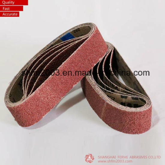 20*520mm, P60 Compact Grain Sanding Belt Similar to Vsm Kk718X pictures & photos