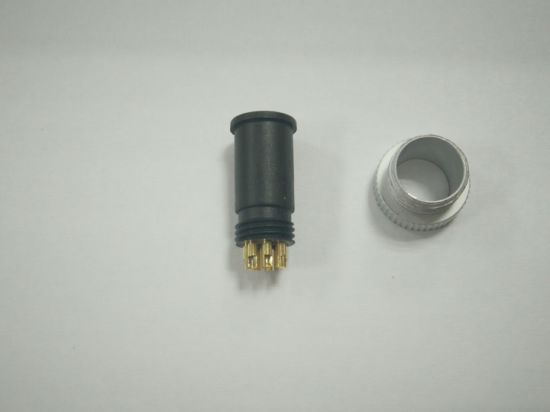 M12 Male Head Connector (a type of accessories: plug + metal screws) pictures & photos