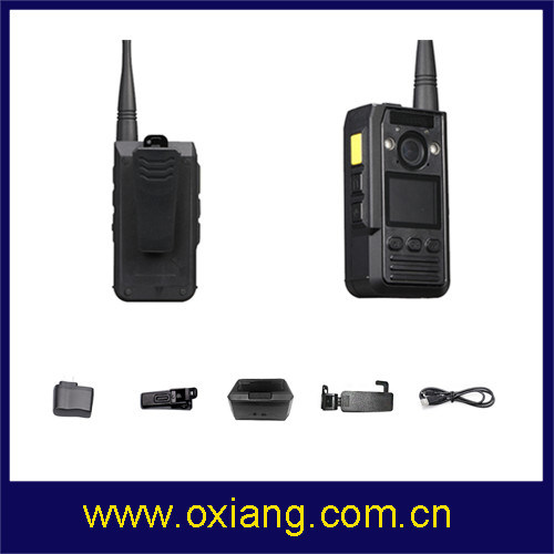 2 Way Intercom Ambarella A7 IP65 1080P Police Wearable Body Worn Camera pictures & photos