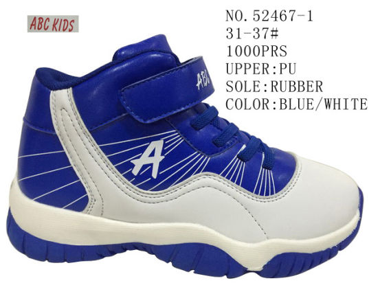 Boy Stock Shoes Kid Basketball Outdoor Sport Shoes