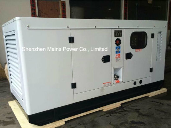 200kVA 160kw Cummins Soundproof Diesel Generator Standby 220kVA 176kw pictures & photos