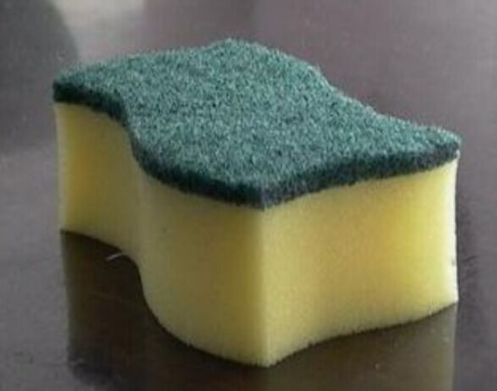 Green Color Scouring Pad for Cleaning, Widely Use