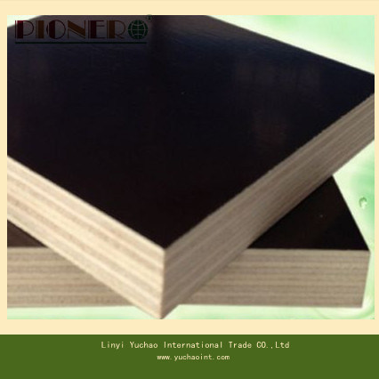 Hardwood Core Black Film Faced Plywood Best Quality