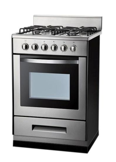 4 Burners Free Standing Gas Cooker with Oven