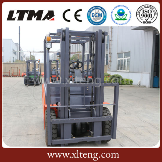 Ltma 3 Ton Electric Forklift with Battery Hot Sale pictures & photos