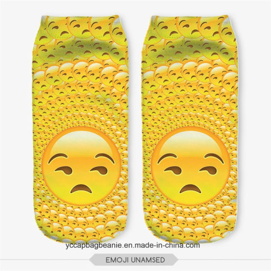 Digital Print Emoji Custom Socks pictures & photos