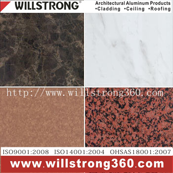 0.4mm Stone Pattern Prepainted Aluminum Coil pictures & photos