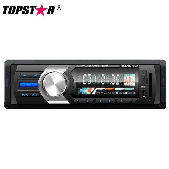Fixed Panel One DIN Car MP3 Player with Pre-AMP Output pictures & photos