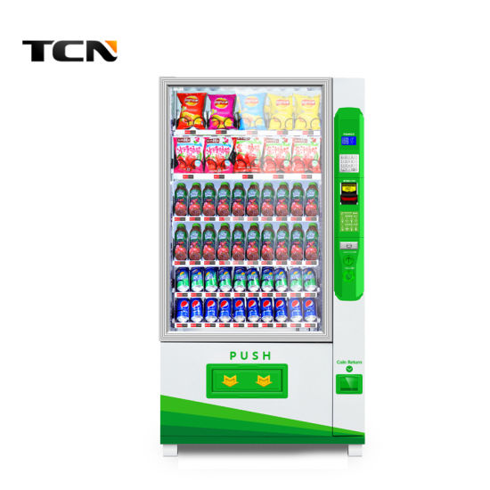 China Tcn Snack Beverage Drink Vending Machine - China