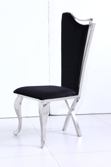 China Hot Selling New Style Stainless Steel Frame Dining Chair ...