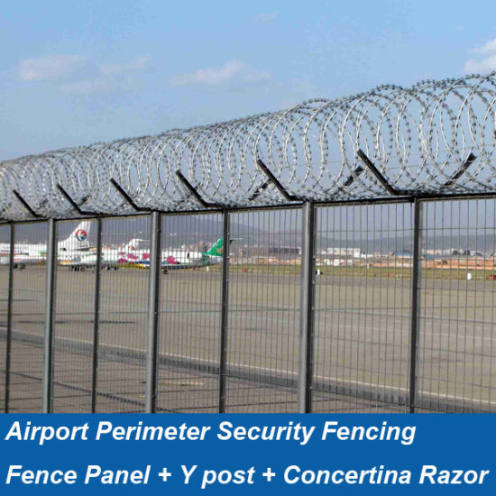 China Airport Perimeter Security Fencing Hp Fence0102