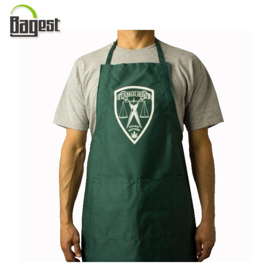 Cheap Promotional Printed Cotton Twill/Non Woven/Polyester Kitchen Cooking Apron