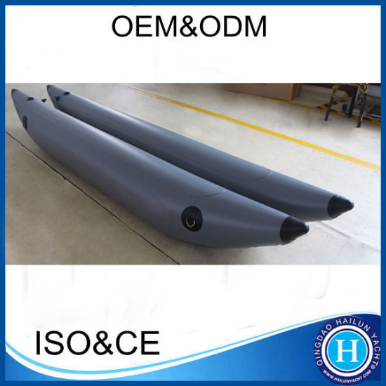 0 9mm /1 2mm PVC Inflatable Tube Inflatable Boat Pontoon for Fishing