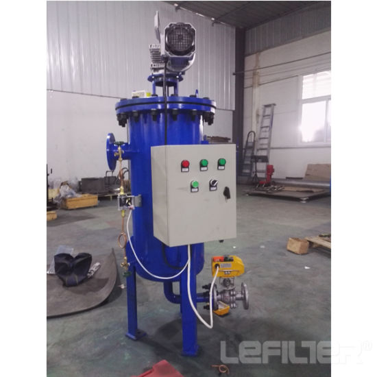 China Auto Self Clean Strainer/Self-Cleaning Strainer