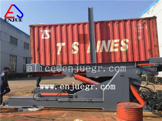 20FT 40FT Trailer Container Tilter for Loading and Unloading