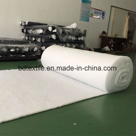 Best Quality 100% Polyester Fiber Batting Roll pictures & photos