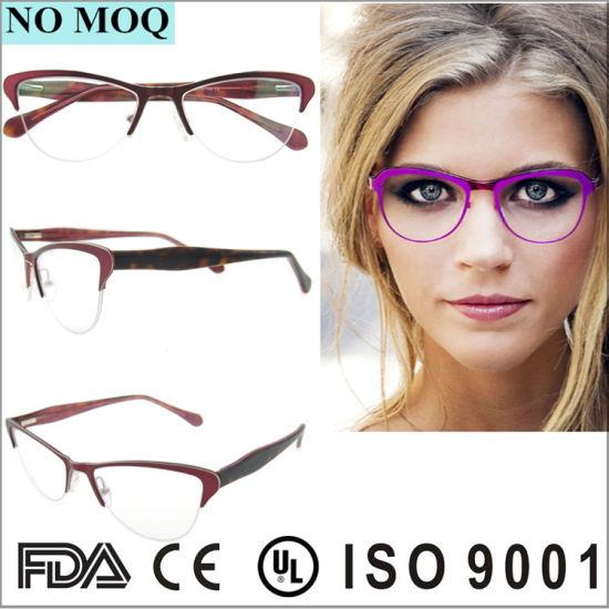 a80f7fe24108 Latest Styles Eyeglasses Fullrim Metal Glasses Frame See Eyewear Frame  pictures   photos