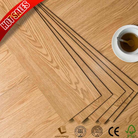 China Loose Lay 4mm 5mm 6mm Laminate Vinyl Flooring Korean Lux