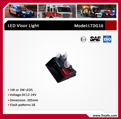 LED Strobe Warning Visor Light (LTDG-16) pictures & photos