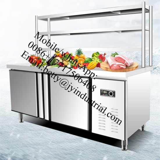 China 1800mm Kitchen Refrigerator /Stainless Steel Counter Top ...