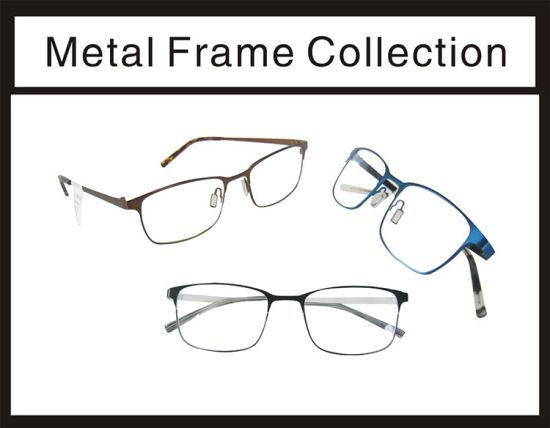 China Classic and American Design Eyewear Frame - China Eyeglasses ...