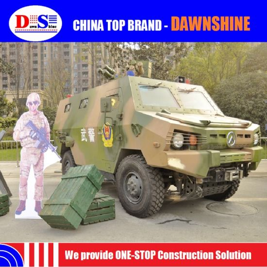 China Made Zfb05 Light Armoured Police Vehicle Personnel Carrier