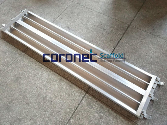 ANSI Certified 19′′ Aluminum Planks for Frame Scaffold (CSAP) pictures & photos