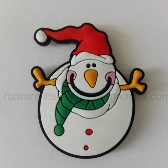 Wholesale Snowman Fridge Magnet Xmas Decoration