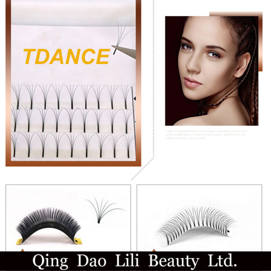 dca627d1fae Pre Made Fans 3D Eyelash Extensions Russian Volume Lashes pictures & photos