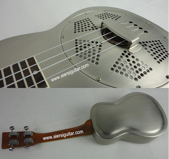 Nrp Brass Metal Body Resonator Ukulele 24 Inch Wholesale Price pictures & photos