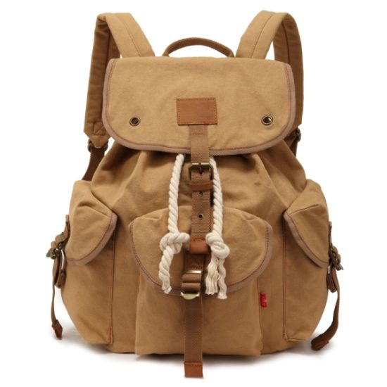 6683120077 China Girl School Student Canvas Backpack Bag (RS-H9012) - China ...