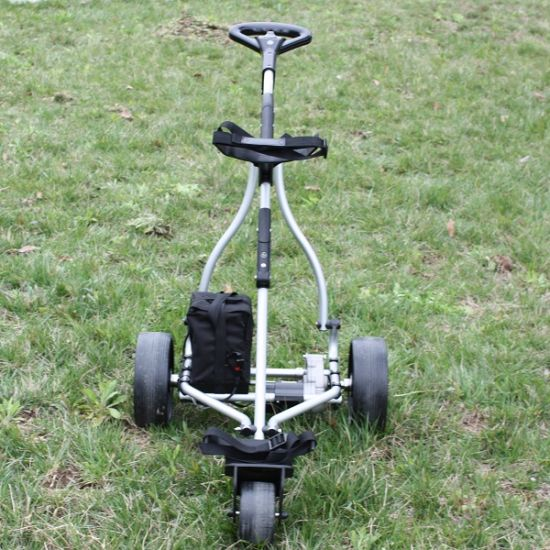 CE Approved Electric Three-Wheel Golf Trolley for Sale (DG12150-B) pictures & photos