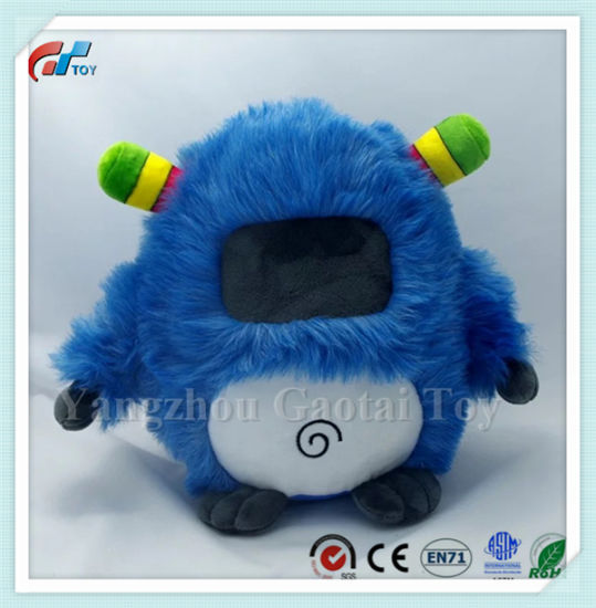 Custom Cartoon Design Soft Stuffed Monster Plush Doll pictures & photos