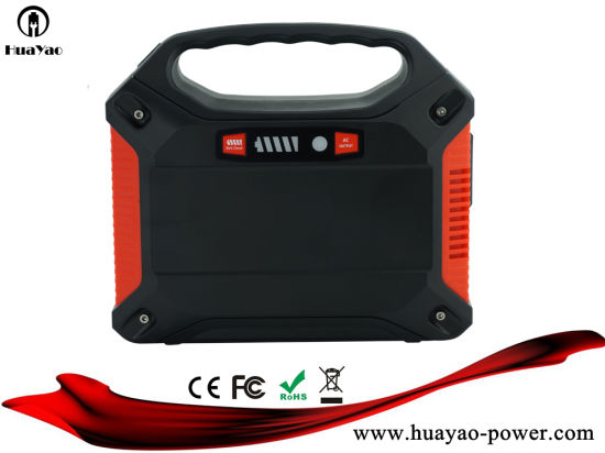 China Portable Generator Charged From Wall Outletcar Chargersolar