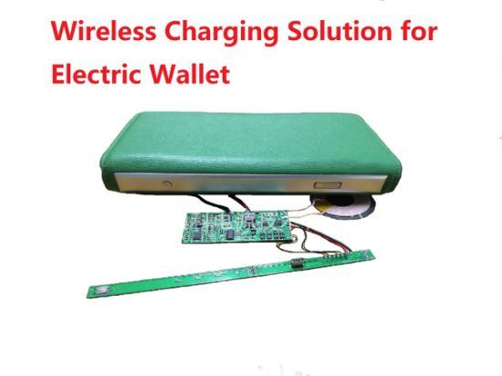 Electroinc Wallet Wireless Charger Solution PCBA pictures & photos